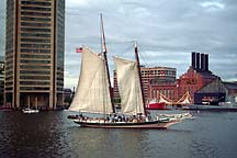 [ Inner Harbor ship ]