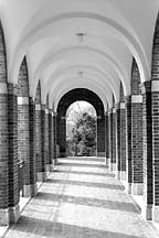 [ The breezeway next to Gilman hall at Johns Hopkins ]