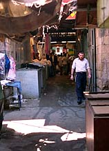 [ Machaneh Yeudah alleyway, Jerusalem ]